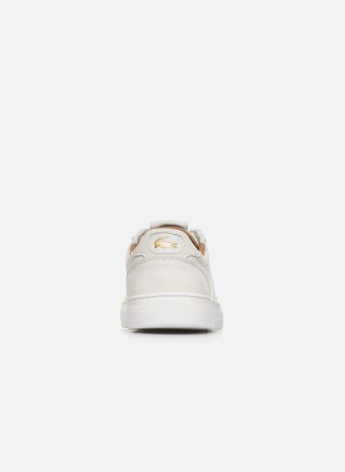 Baskets Lacoste Courtline 120 4 Us Cma Blanc vue droite