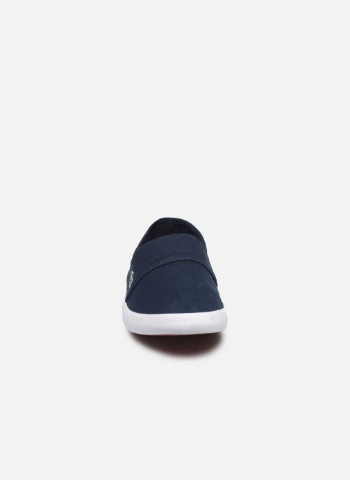 Baskets Lacoste Marice Bl 2 Cma Bleu vue portées chaussures