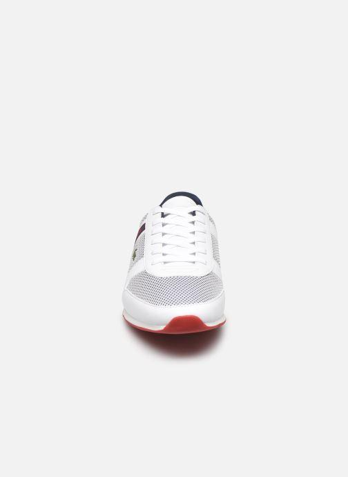 Baskets Lacoste Menerva Sport 120 1 Cma Blanc vue portées chaussures