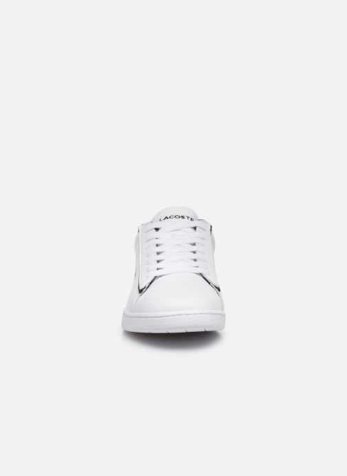 Baskets Lacoste Carnaby Evo 120 2 Sfa Blanc vue portées chaussures