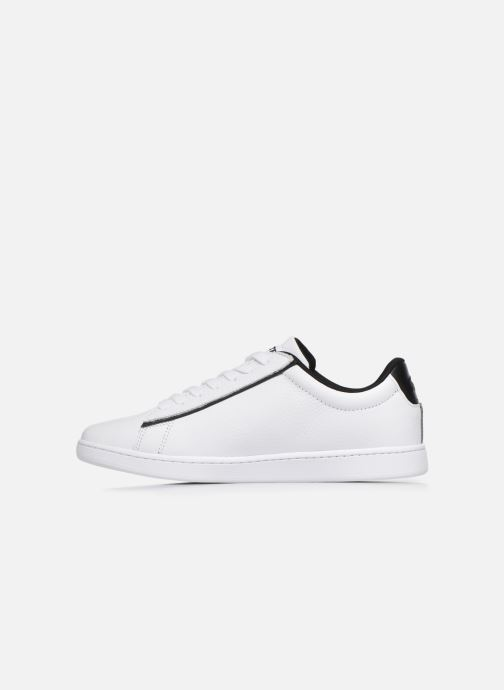 Baskets Lacoste Carnaby Evo 120 2 Sfa Blanc vue face