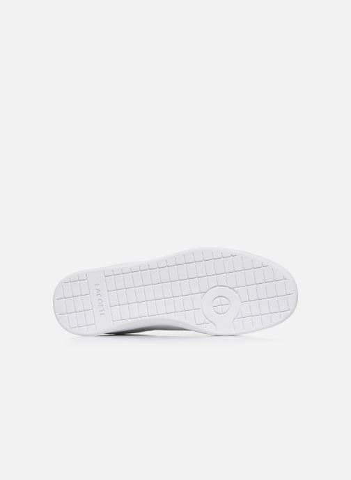 Baskets Lacoste Carnaby Evo 120 2 Sfa Blanc vue haut