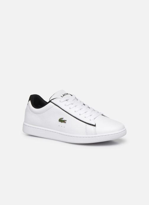Baskets Lacoste Carnaby Evo 120 2 Sfa Blanc vue détail/paire