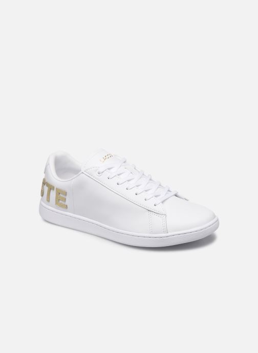 Baskets Lacoste Carnaby Evo 120 6 Us Sfa Blanc vue détail/paire