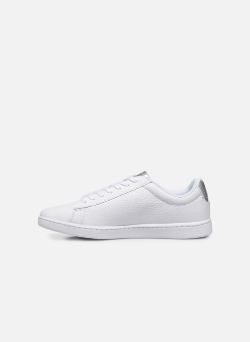 Baskets Lacoste Carnaby Evo 220 1 Sfa Blanc vue face