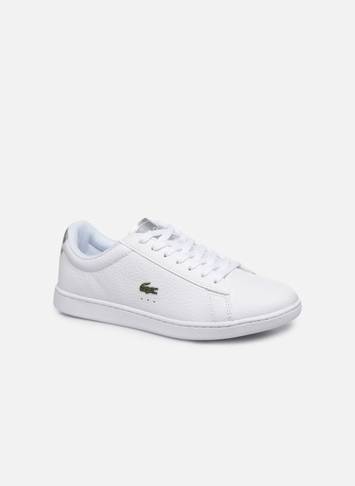 Baskets Lacoste Carnaby Evo 220 1 Sfa Blanc vue détail/paire