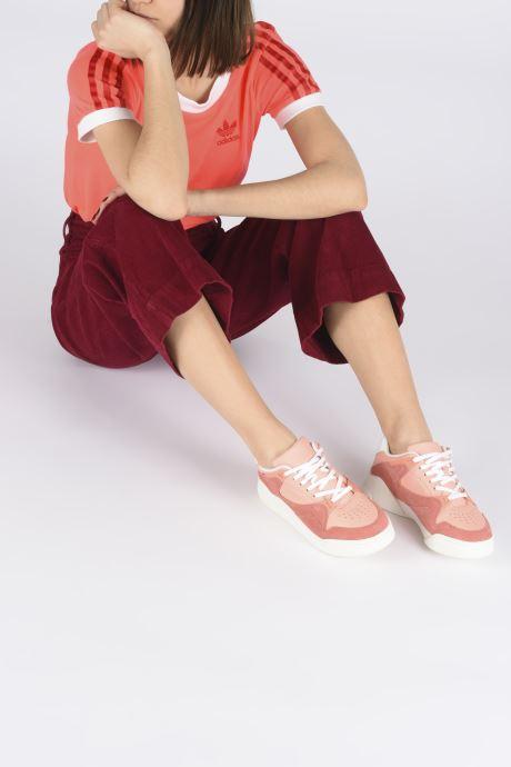 Sneakers Lacoste Court Slam 120 4 Us Sfa Rosa immagine dal basso