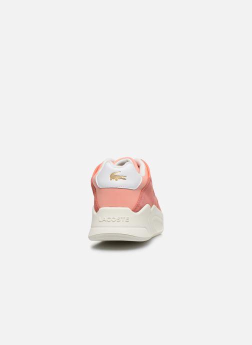 Sneakers Lacoste Court Slam 120 4 Us Sfa Rosa immagine destra