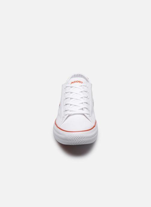 Baskets Lacoste Gripshot 120 2 Cfa Blanc vue portées chaussures