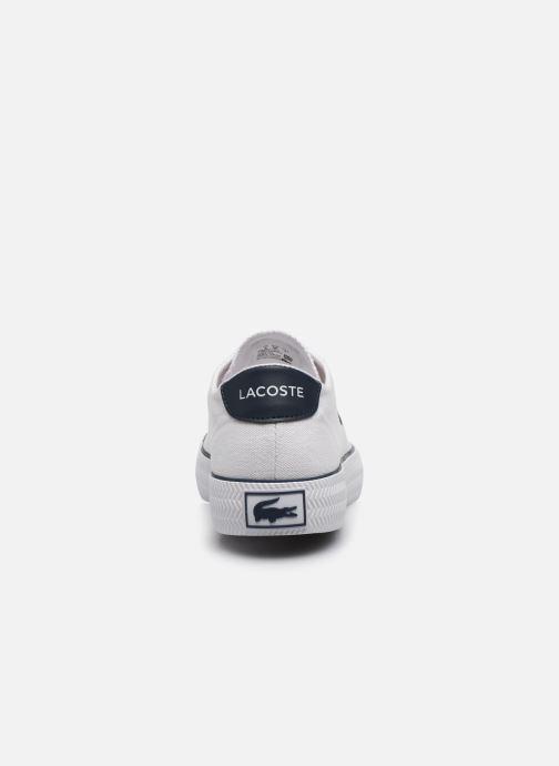 Baskets Lacoste Gripshot 120 2 Cfa Blanc vue droite