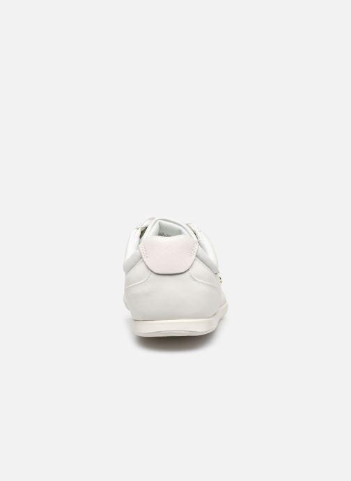 Baskets Lacoste Rey Lace120 1 Cfa Blanc vue droite