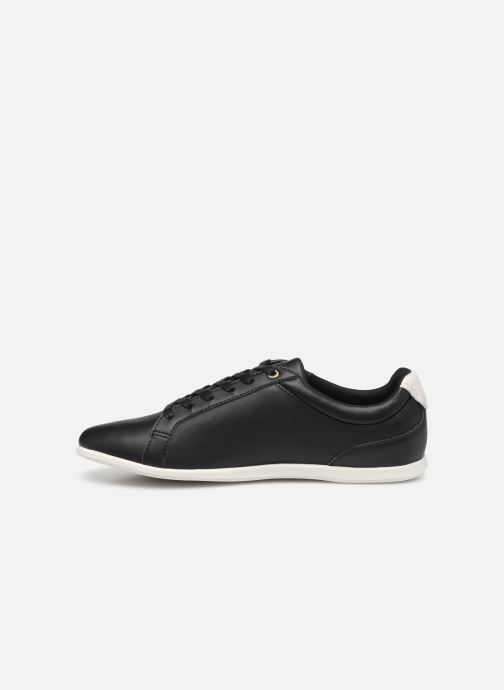 Baskets Lacoste Rey Lace 120 1 Cfa Noir vue face