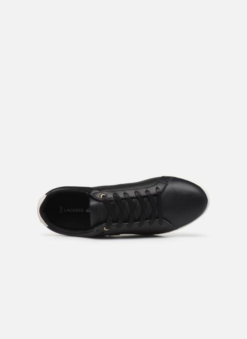 Baskets Lacoste Rey Lace120 1 Cfa Noir vue gauche