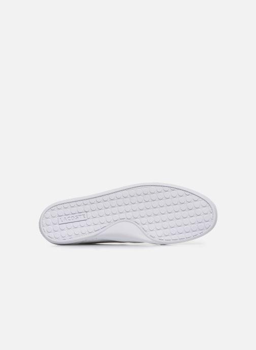 Baskets Lacoste Oreno 120 1 Cfa Blanc vue haut