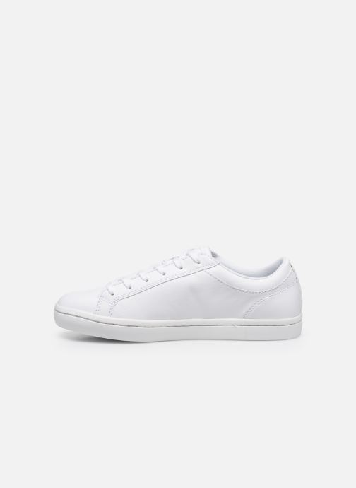 Baskets Lacoste Straightset Bl 1 Cfa Blanc vue face