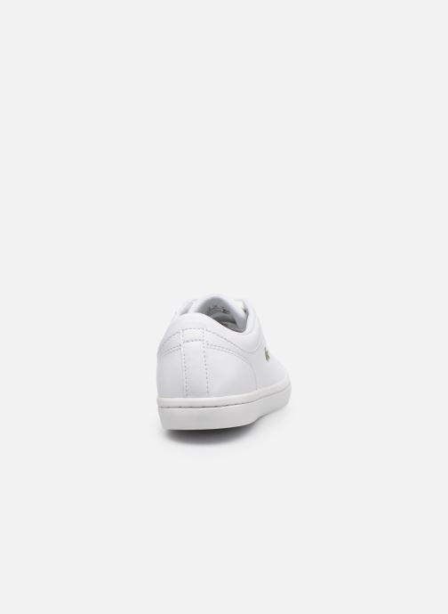 Baskets Lacoste Straightset Bl 1 Cfa Blanc vue droite