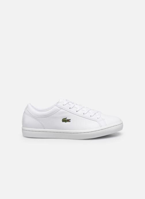 Sneakers Lacoste Straightset Bl 1 Cfa Bianco immagine posteriore