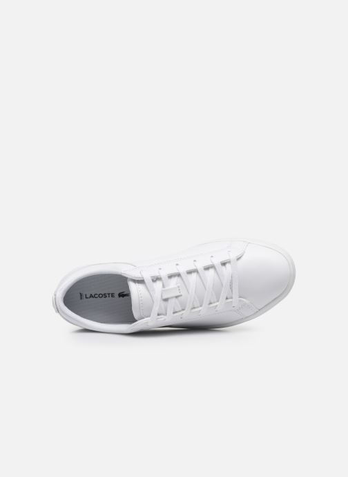 Sneakers Lacoste Straightset Bl 1 Cfa Bianco immagine sinistra