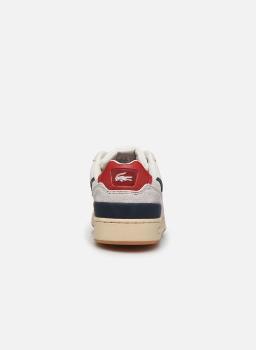 Baskets Lacoste T-Clip 120 2 Us Sfa Blanc vue droite