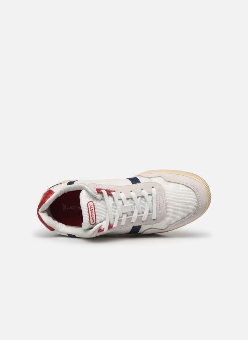 Baskets Lacoste T-Clip 120 2 Us Sfa Blanc vue gauche