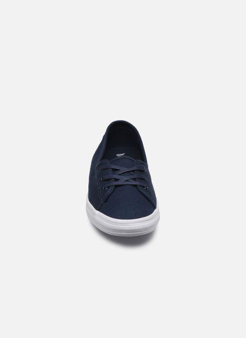 Baskets Lacoste Ziane Chunky Bl 2 Cfa Bleu vue portées chaussures