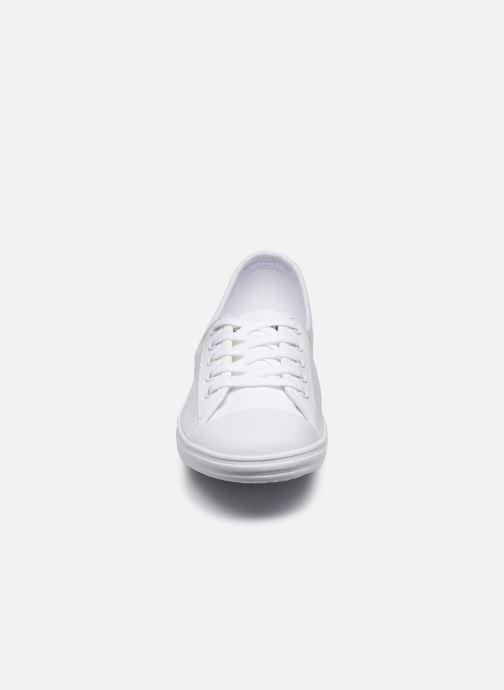 Baskets Lacoste Ziane Bl 2 Cfa Blanc vue portées chaussures