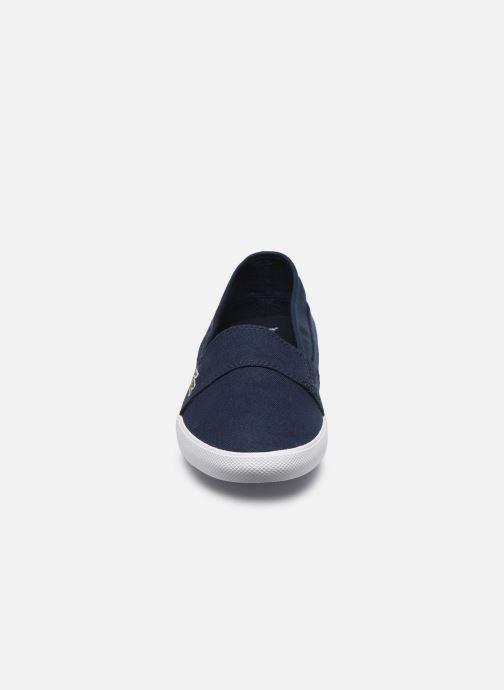 Baskets Lacoste Marice Bl 2 Cfa Bleu vue portées chaussures