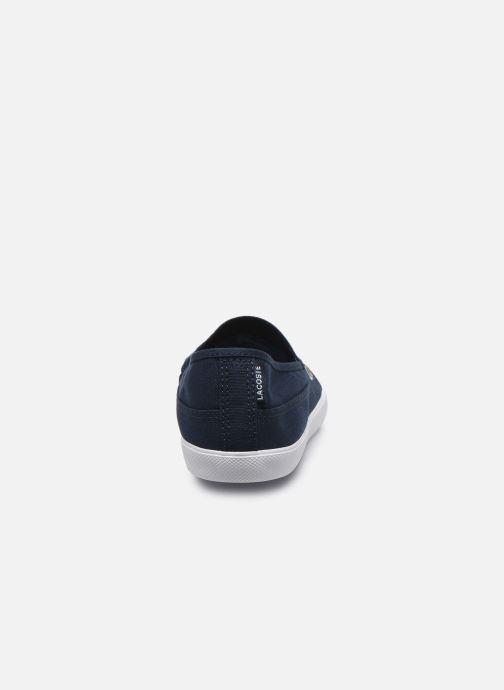 Baskets Lacoste Marice Bl 2 Cfa Bleu vue droite