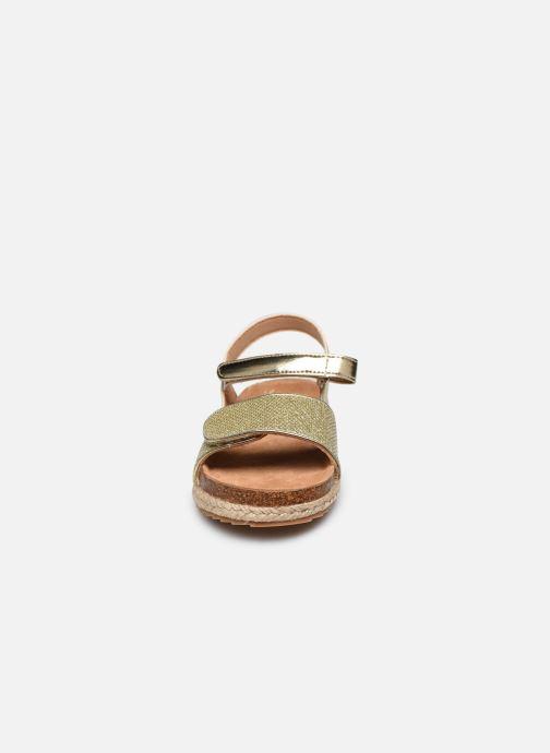 Sandales et nu-pieds Xti Sandales / 57058 Or et bronze vue portées chaussures