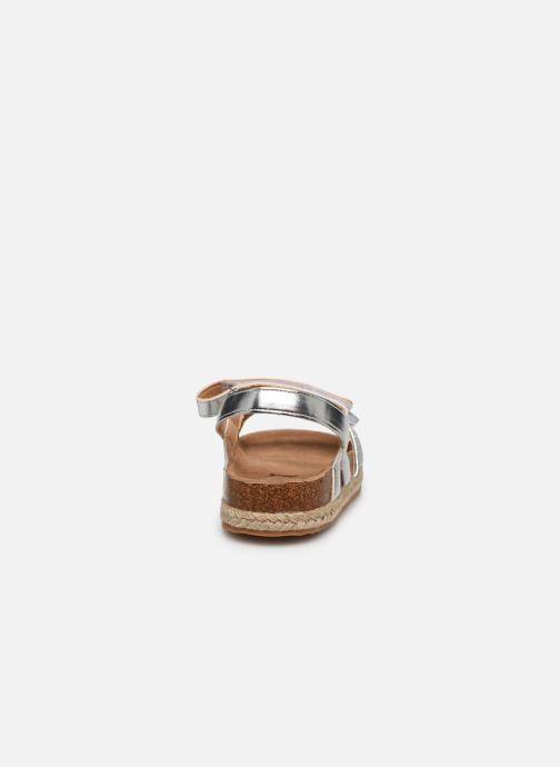 Sandalen Xti Sandales / 57058 silber ansicht von rechts