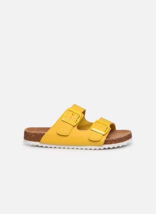 Sandales et nu-pieds Xti Sandales / 57062 Jaune vue derrière