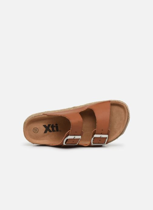 Sandales et nu-pieds Xti Sandales / 57060 Marron vue gauche