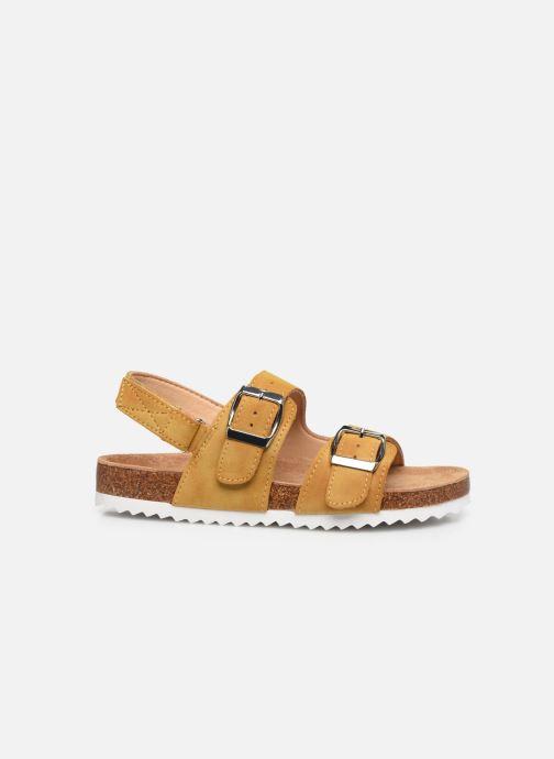 Sandales et nu-pieds Xti Sandales / 57063 Jaune vue derrière