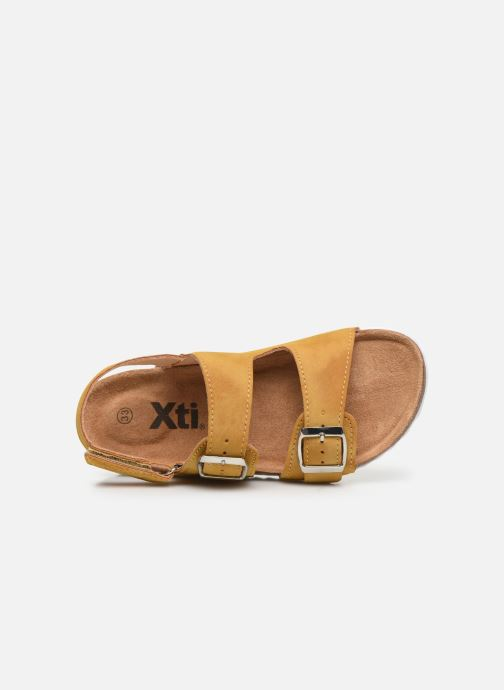 Sandales et nu-pieds Xti Sandales / 57063 Jaune vue gauche