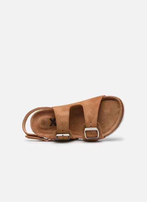 Sandales et nu-pieds Xti Sandales / 57063 Marron vue gauche