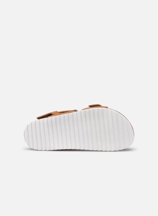 Sandales et nu-pieds Xti Sandales / 57063 Marron vue haut