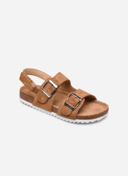 Sandales et nu-pieds Xti Sandales / 57063 Marron vue détail/paire