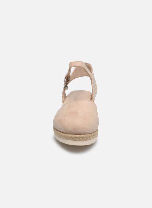 Espadrilles Xti Espadrilles / 57189 Beige vue portées chaussures
