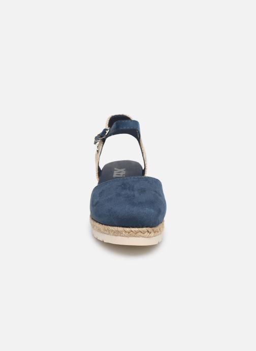 Espadrilles Xti Espadrilles / 57189 Bleu vue portées chaussures