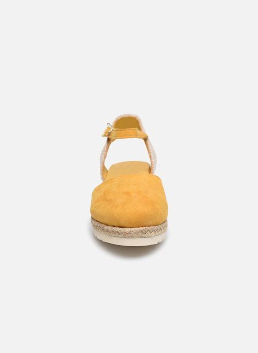 Espadrilles Xti Espadrilles / 57189 Jaune vue portées chaussures