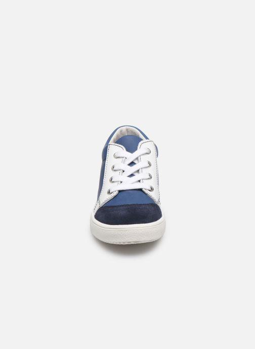 Baskets Patt'touch Andy Bleu vue portées chaussures