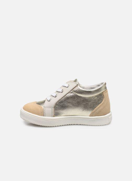 Sneakers Patt'touch Andy Goud en brons voorkant