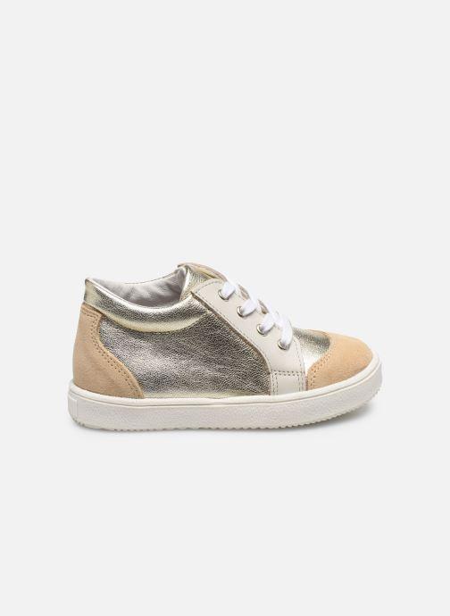 Sneakers Patt'touch Andy Goud en brons achterkant