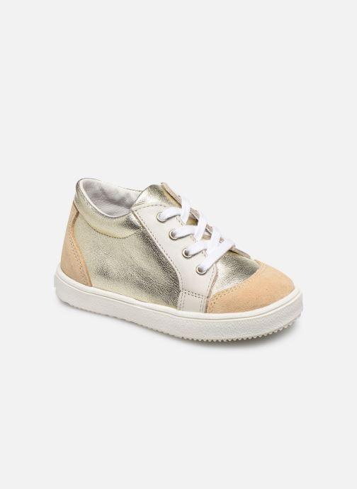 Sneakers Patt'touch Andy Goud en brons detail