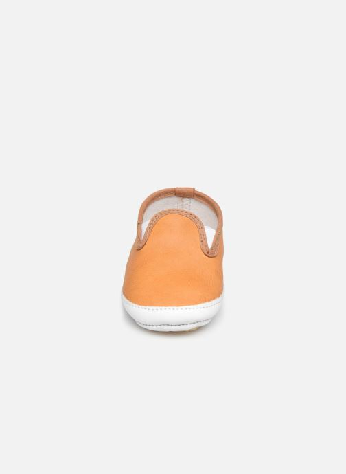 Pantofole Patt'touch Alix Beige modello indossato