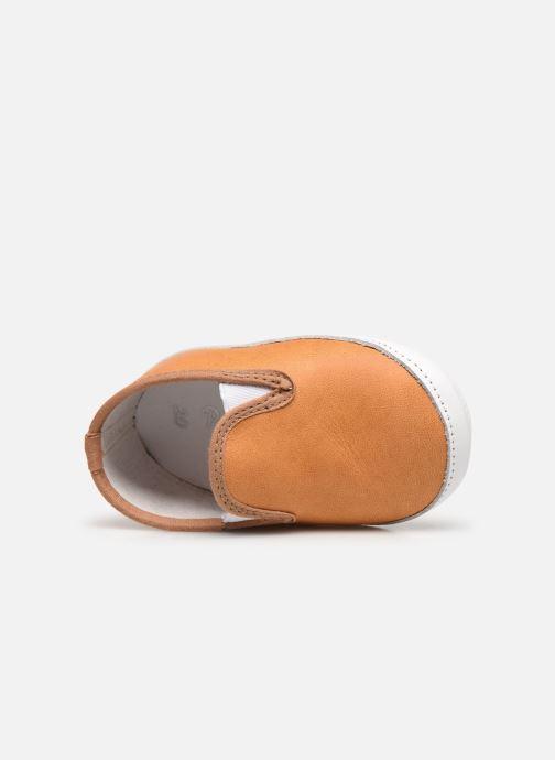 Pantofole Patt'touch Alix Beige immagine sinistra