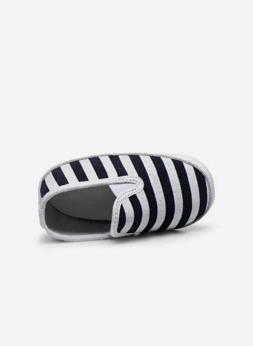 Pantofole Patt'touch Alix Azzurro immagine sinistra