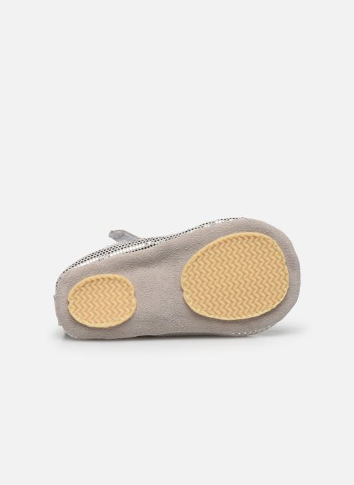 Pantofole Patt'touch Adele Argento immagine dall'alto