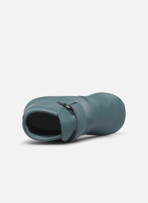 Pantoffels Patt'touch Yael Blauw links