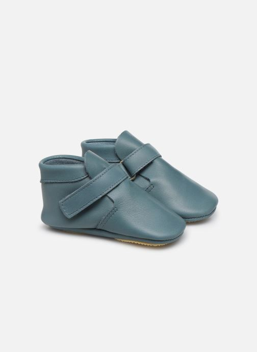 Pantoffels Patt'touch Yael Blauw detail